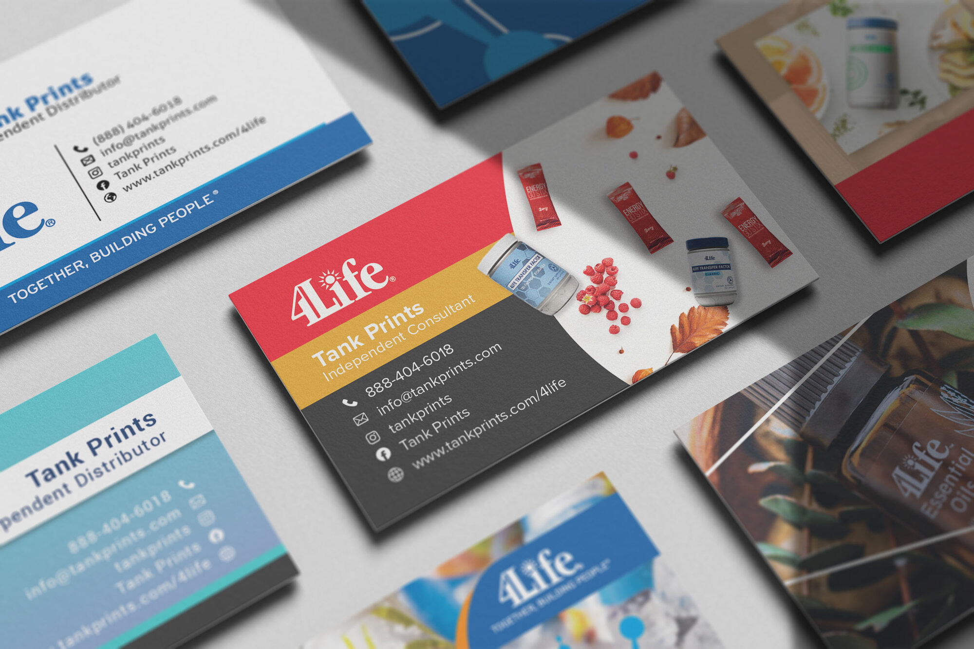 4Life Business Cards