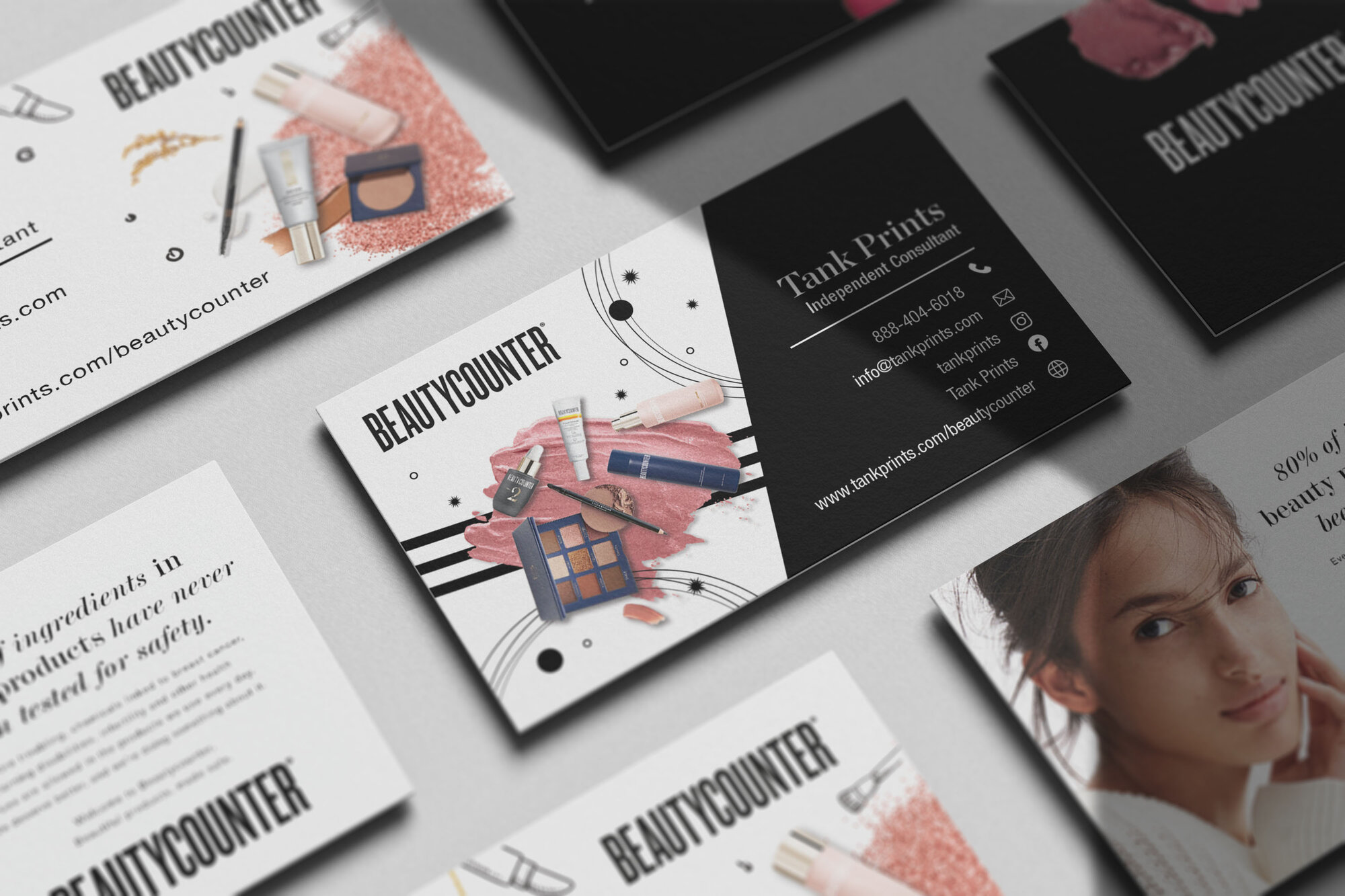 Beauty Counter Business Cards