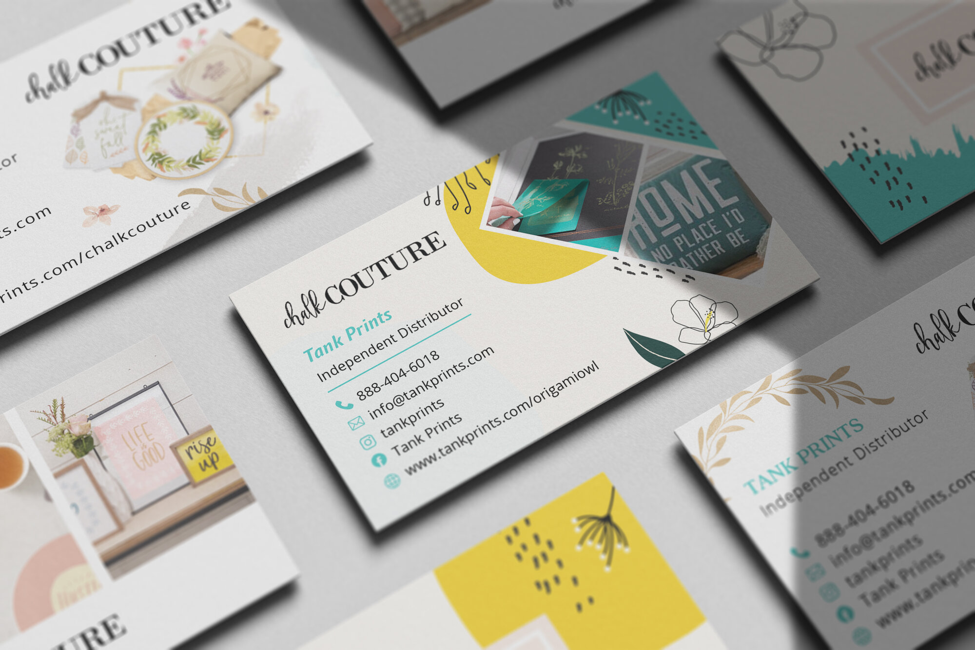 Chalk Couture Business Cards