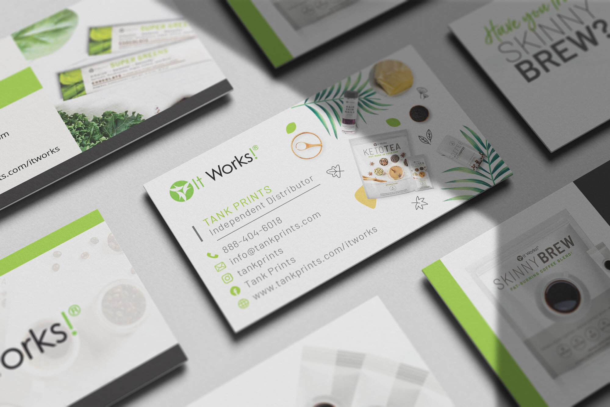 It Work Business Cards