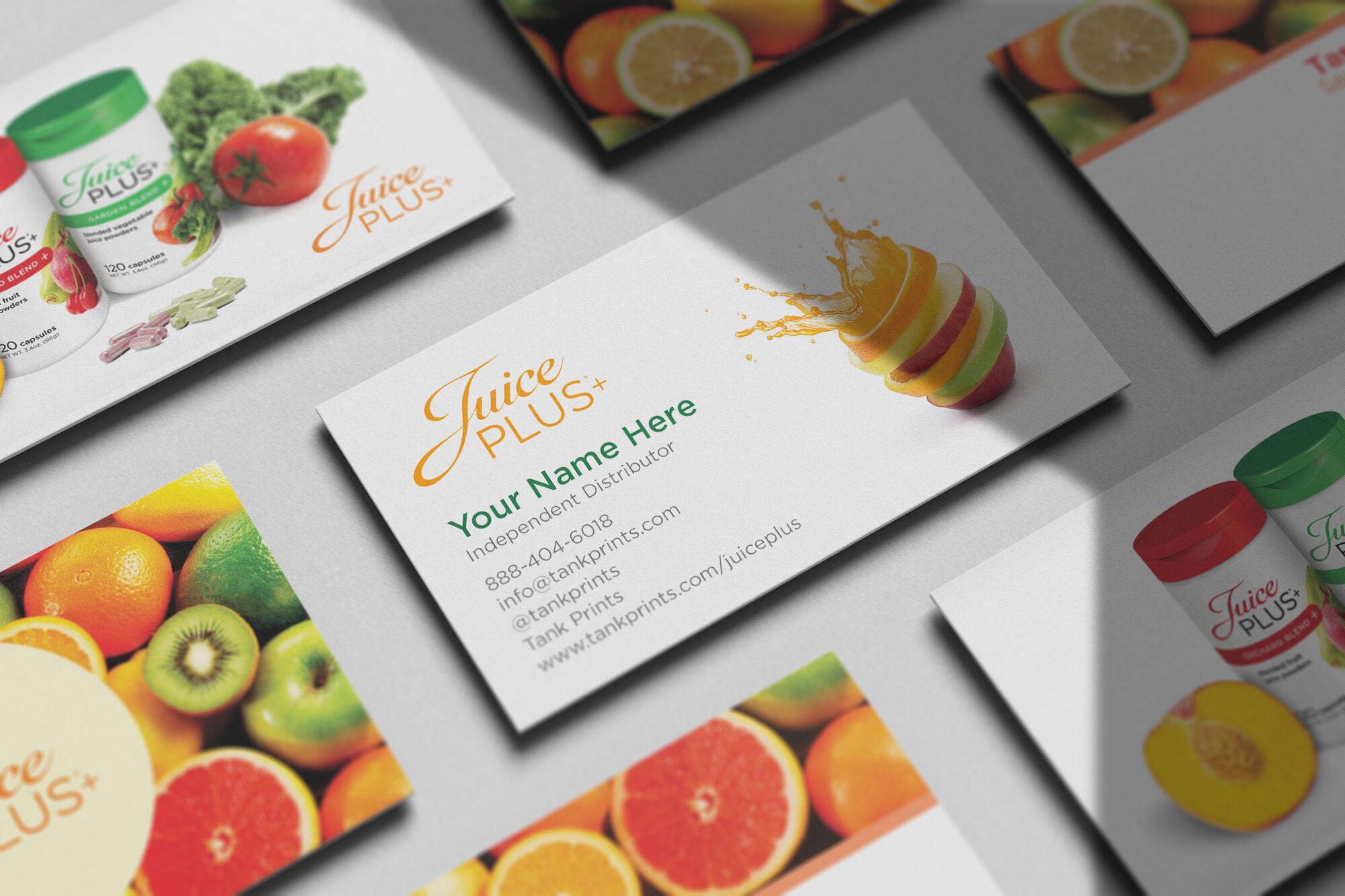 Juice Plus Business Cards