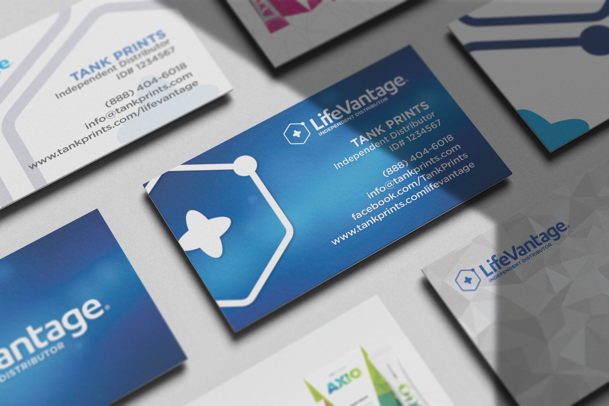 LifeVantage Business Cards