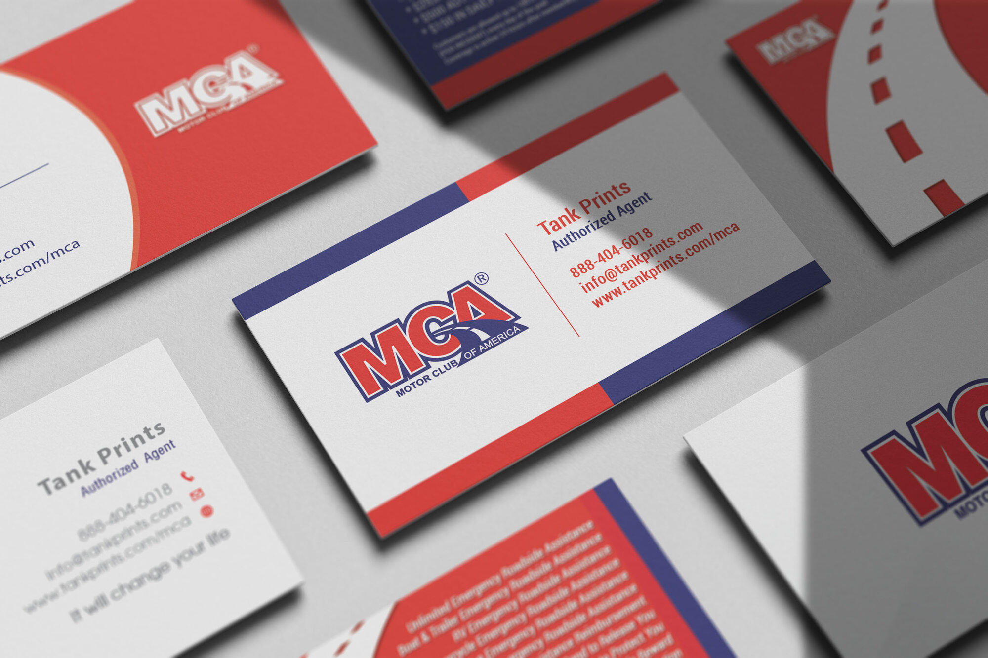 MCA Business Cards