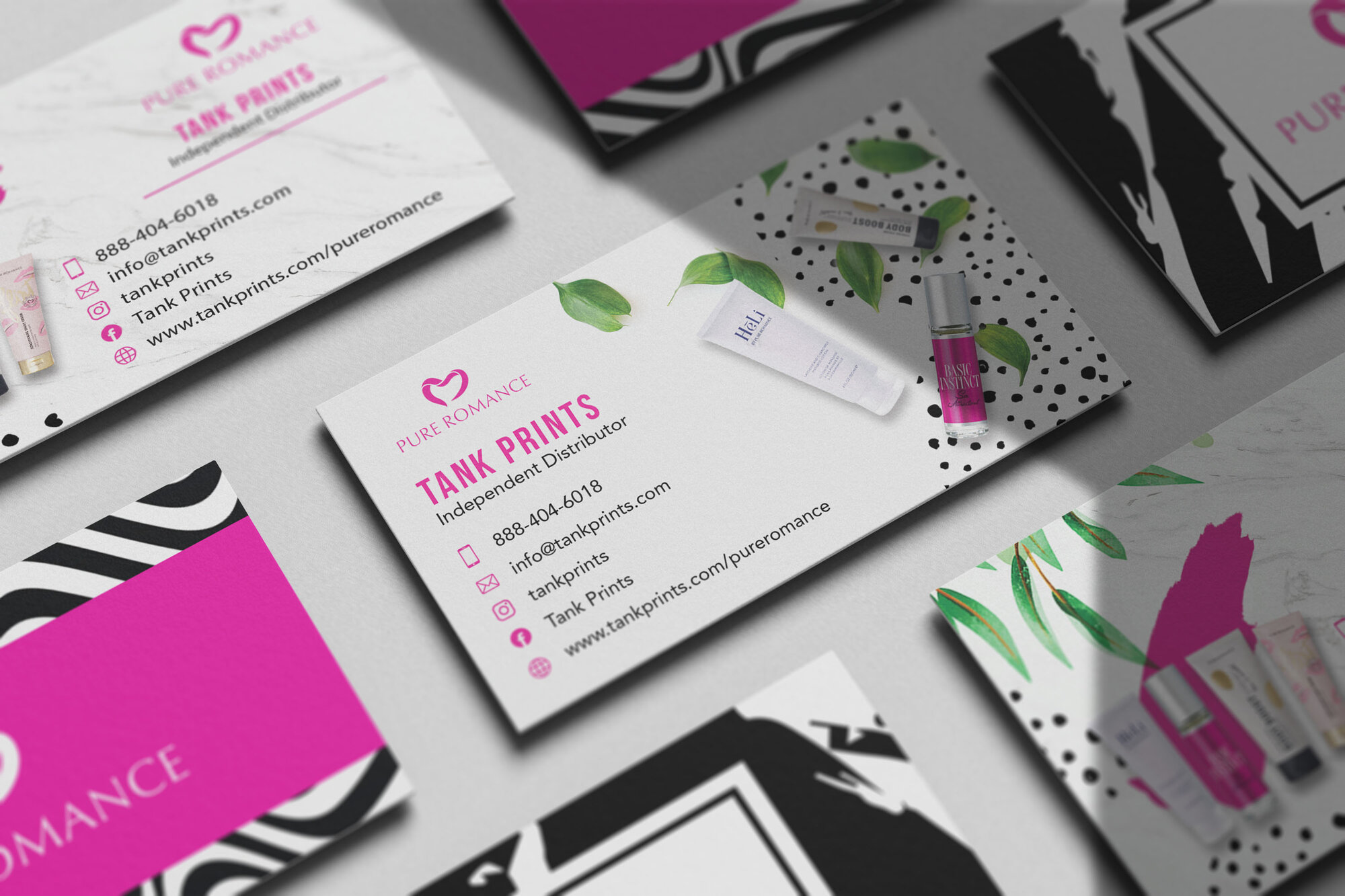 Pure Romance Business Cards
