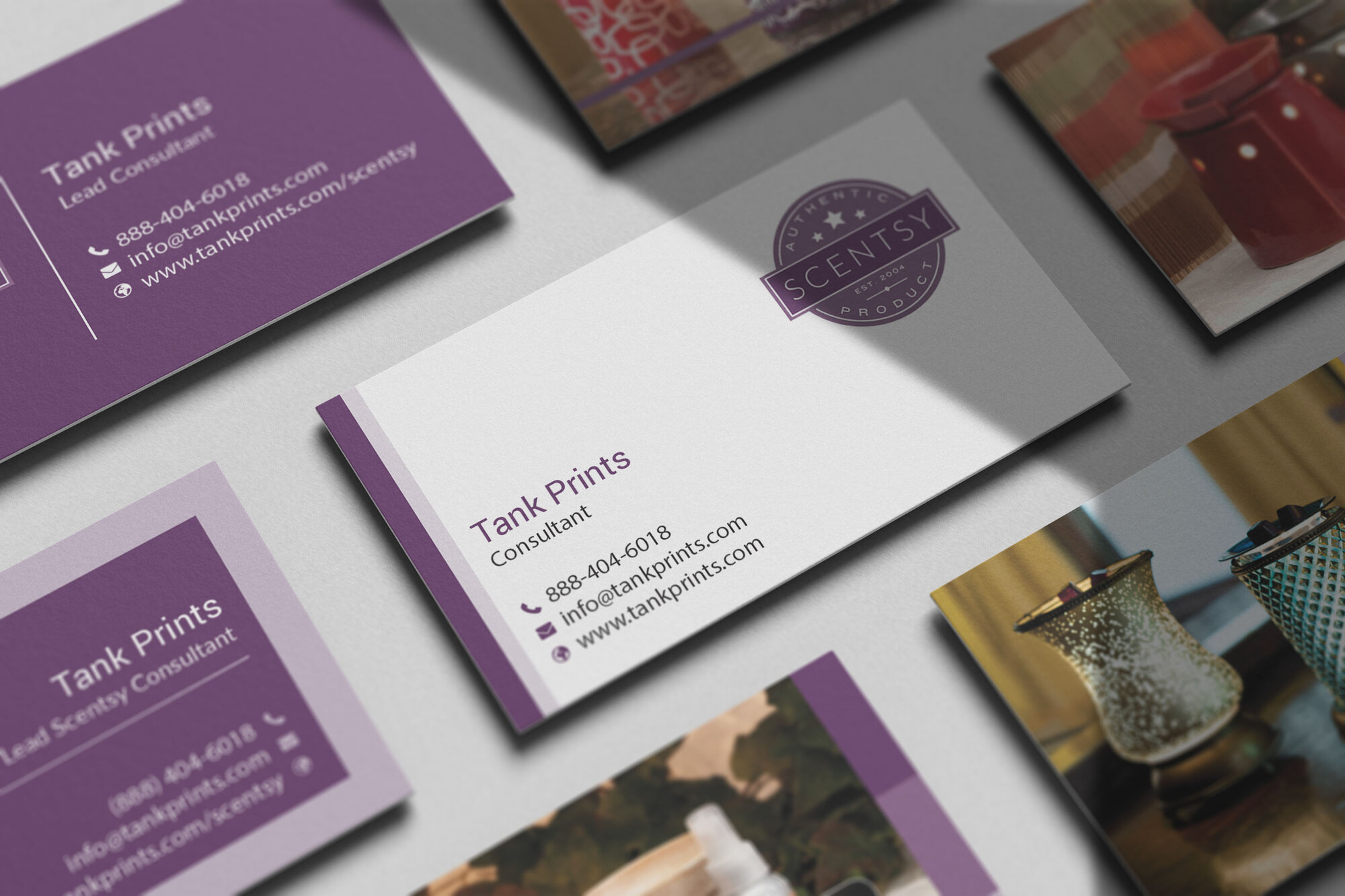 Scentsy Business Cards