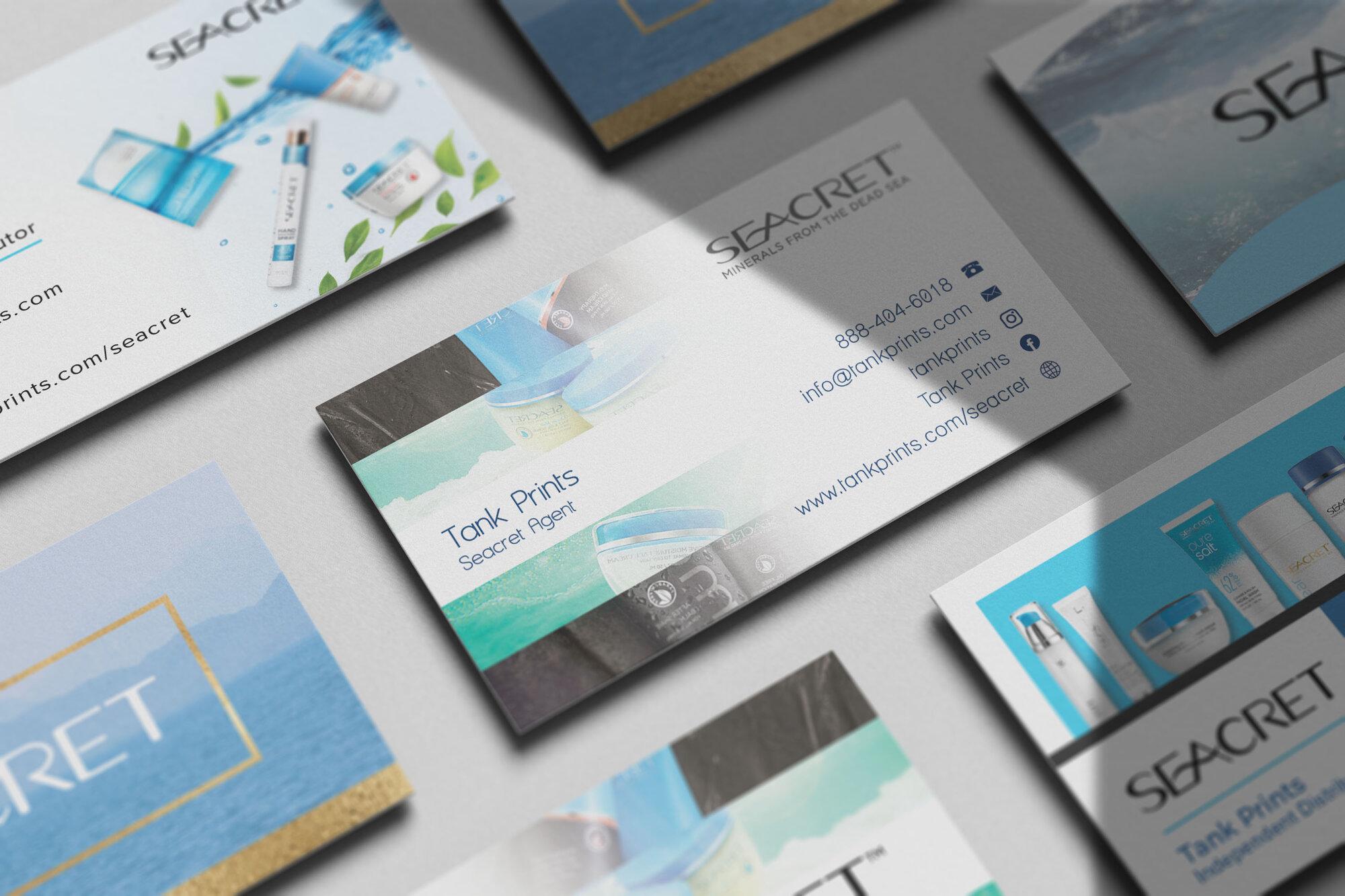 Seacret Business Cards