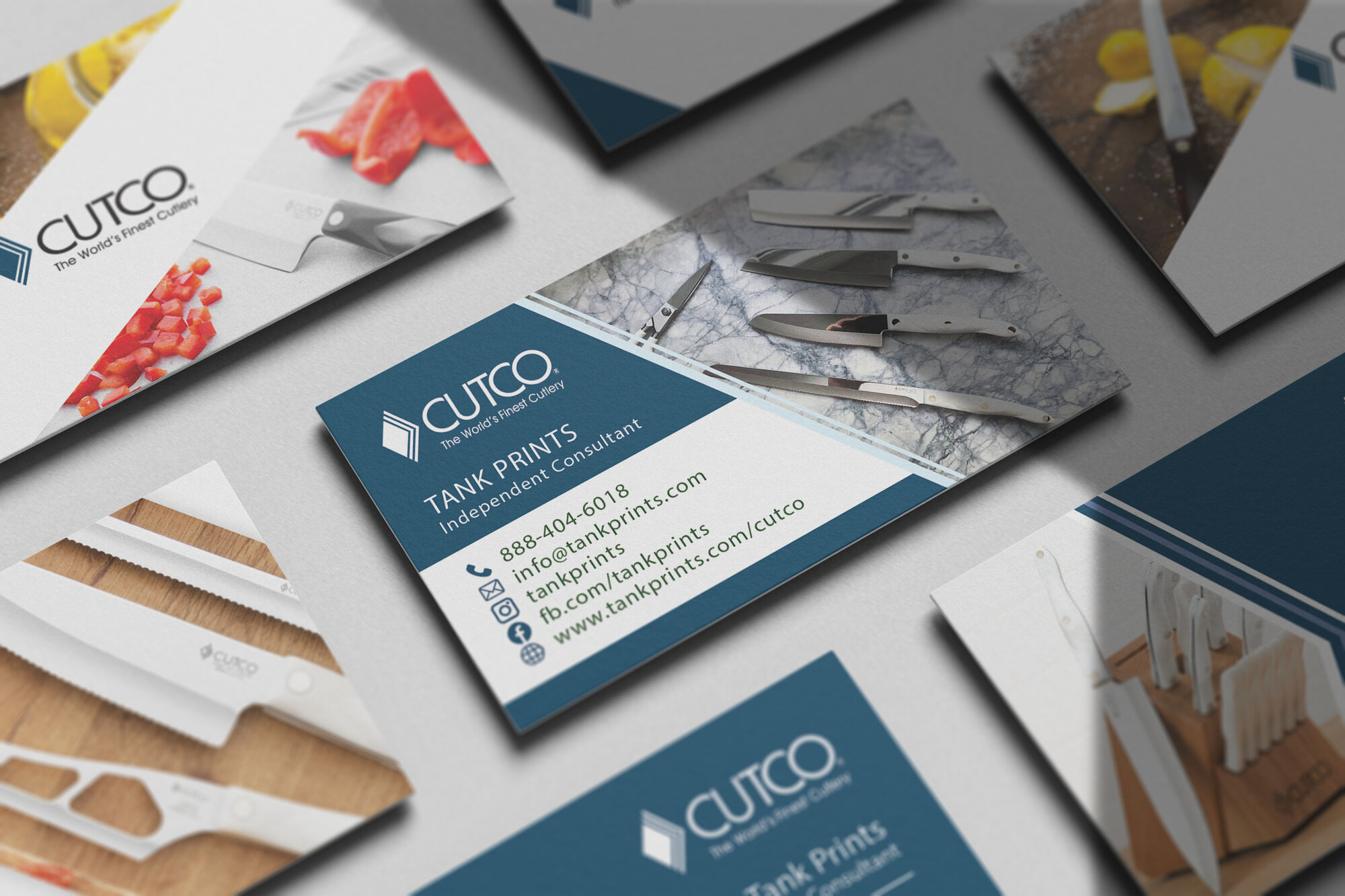 Vector Marketing Business Cards
