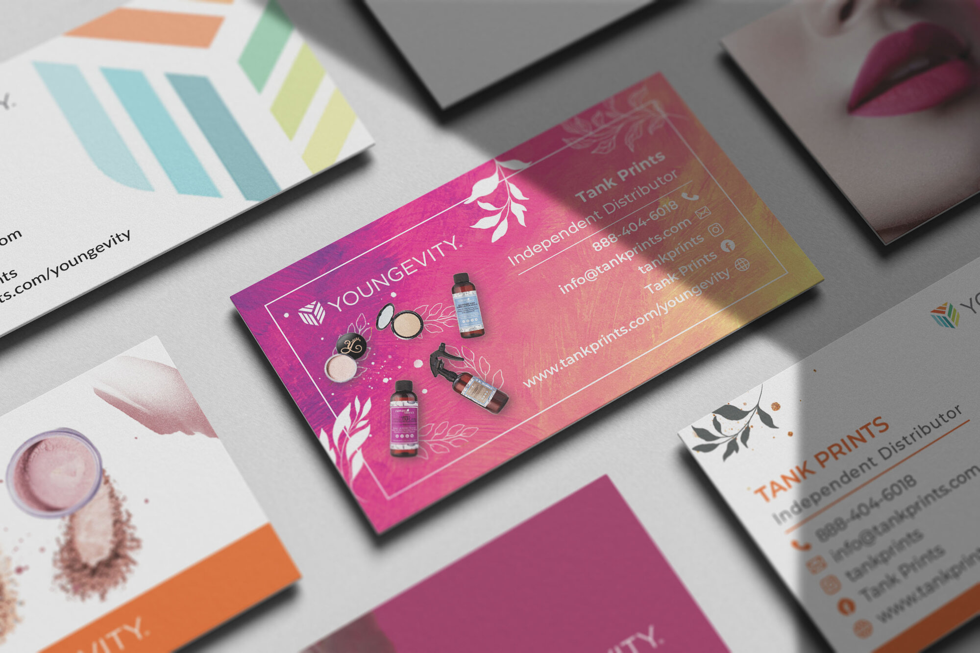 Youngevity Business Cards