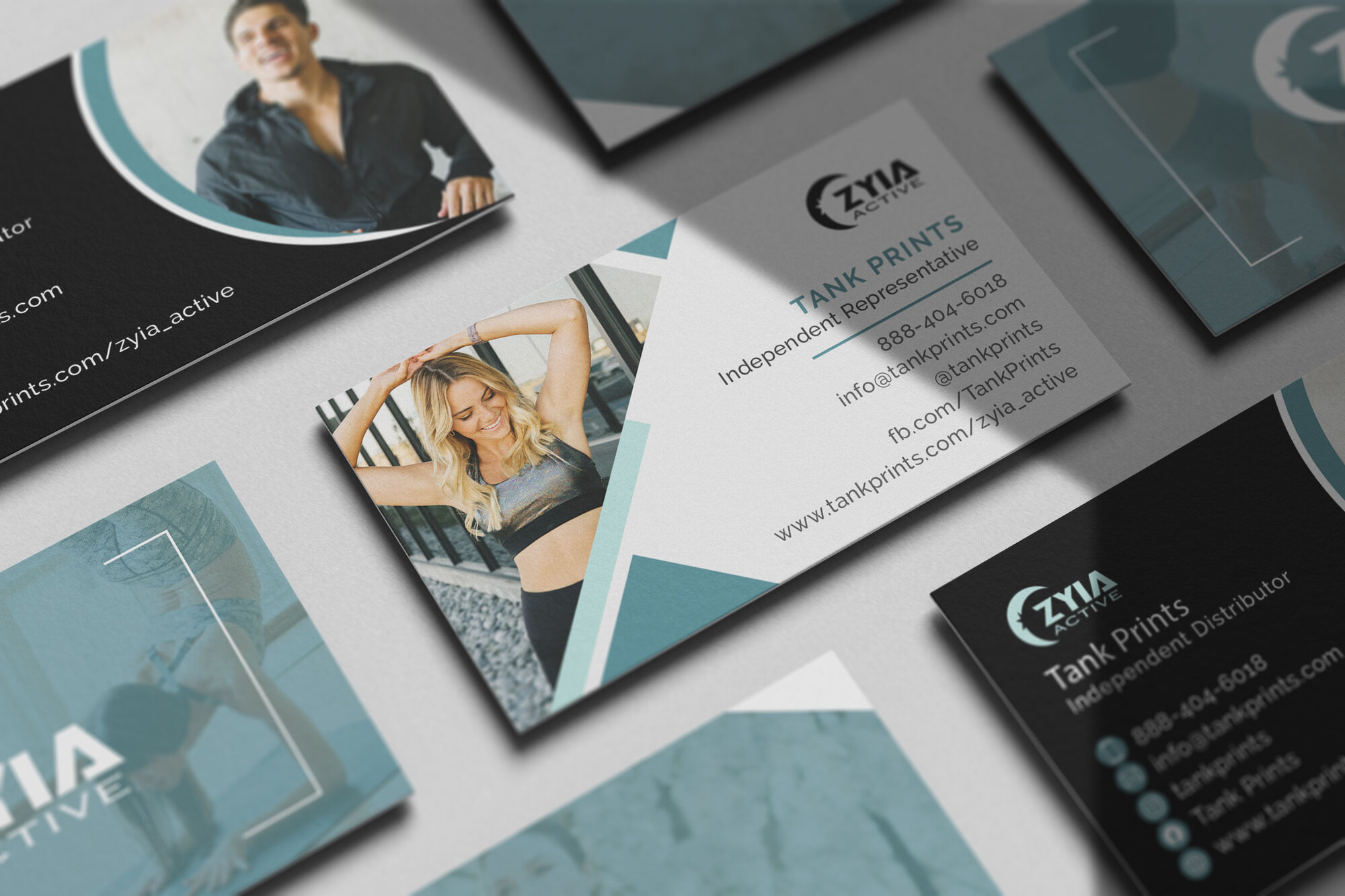 Zyia Business Cards