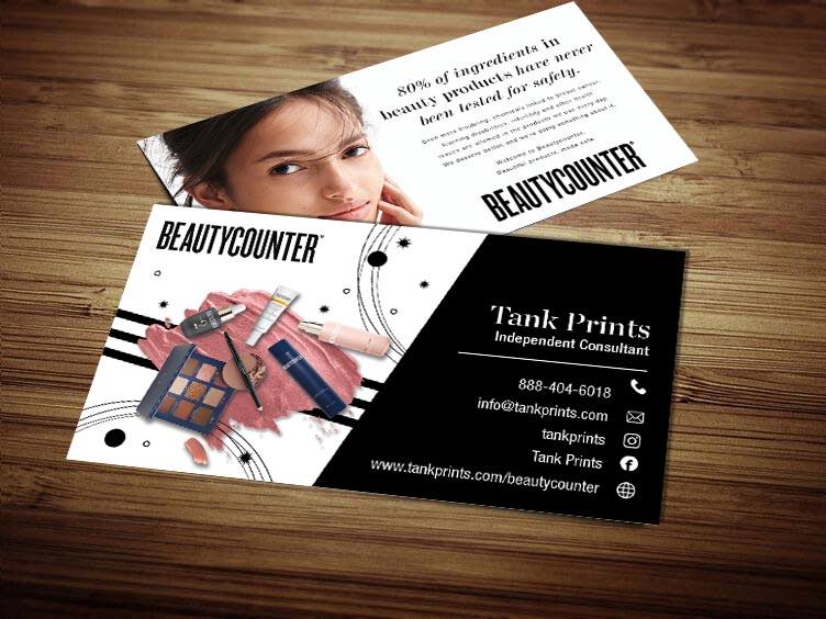BeautyCounter Business Card Design 2