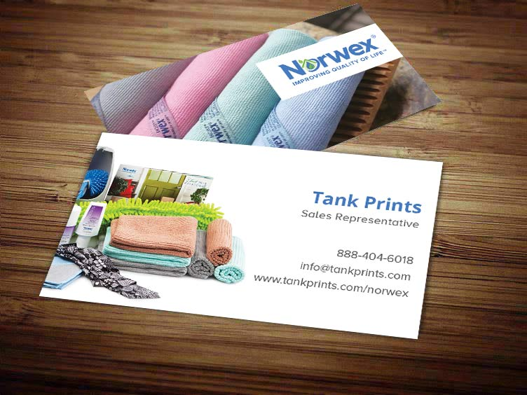 Norwex Business Card Design 2