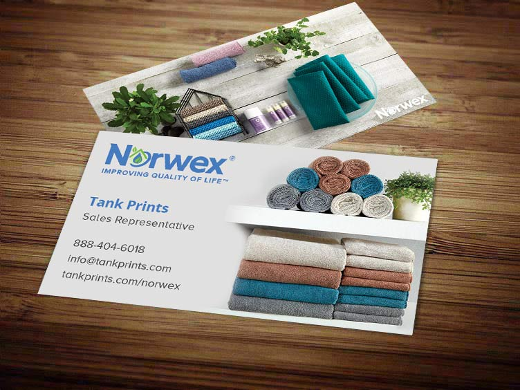 Norwex Business Card Design 3