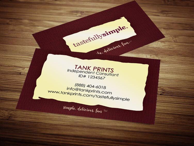Tastefully Simple Business Card Design 4