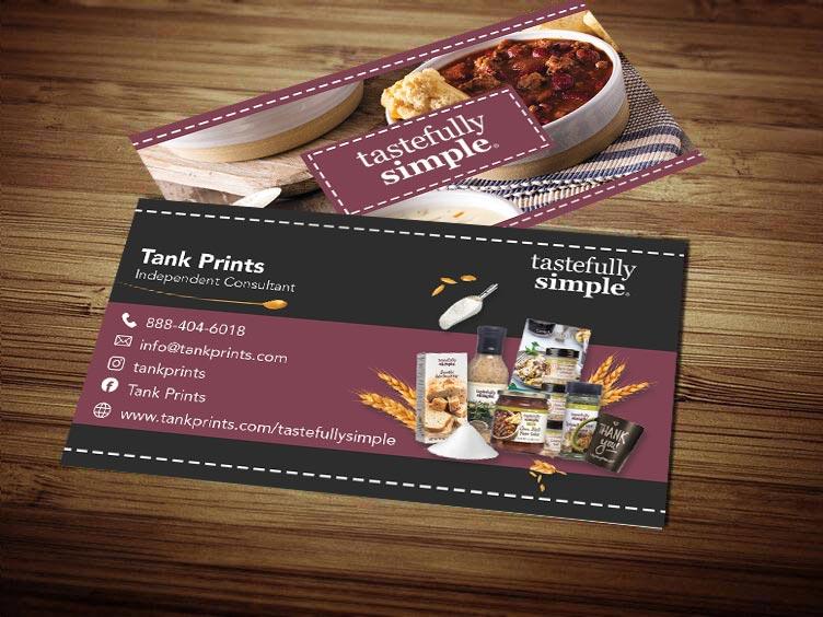 Tastefully Simple Business Card Design 5