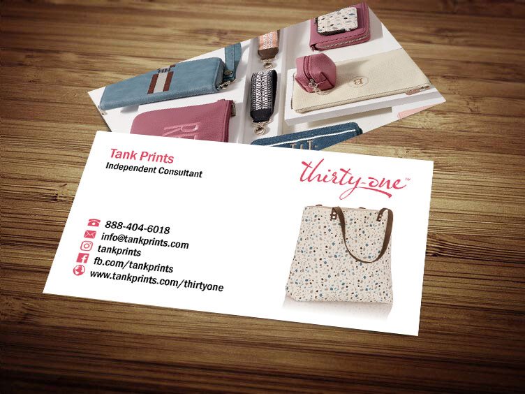 Thirty One Business Card Design 1