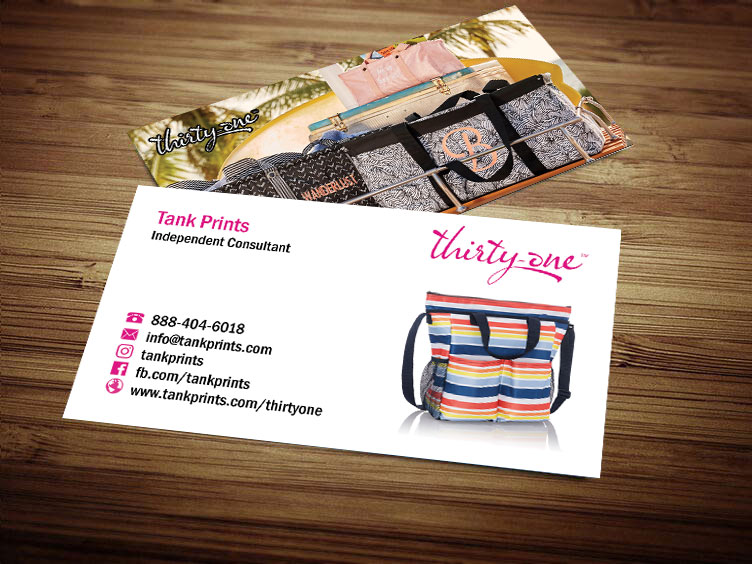 Thirty One Business Card Design 2