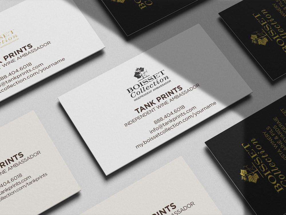 Boisset Business Cards