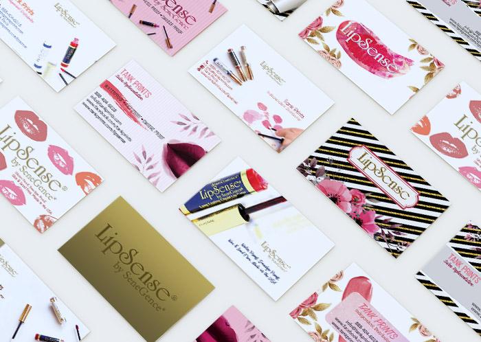 LipSense Business Cards