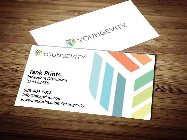 Youngevity Business Card Design 1