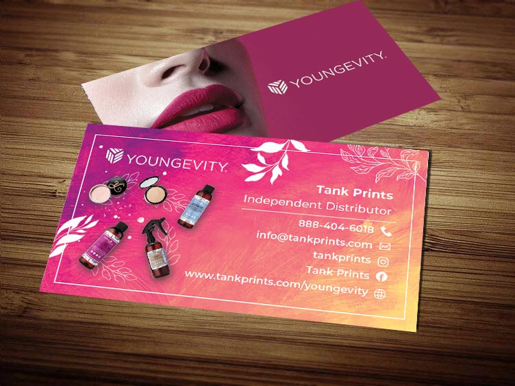 Youngevity Business Card Design 3